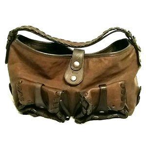 Authentic Chloe silverado hobo bag